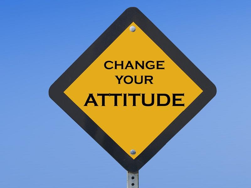 change attitude positive attitude self motivation